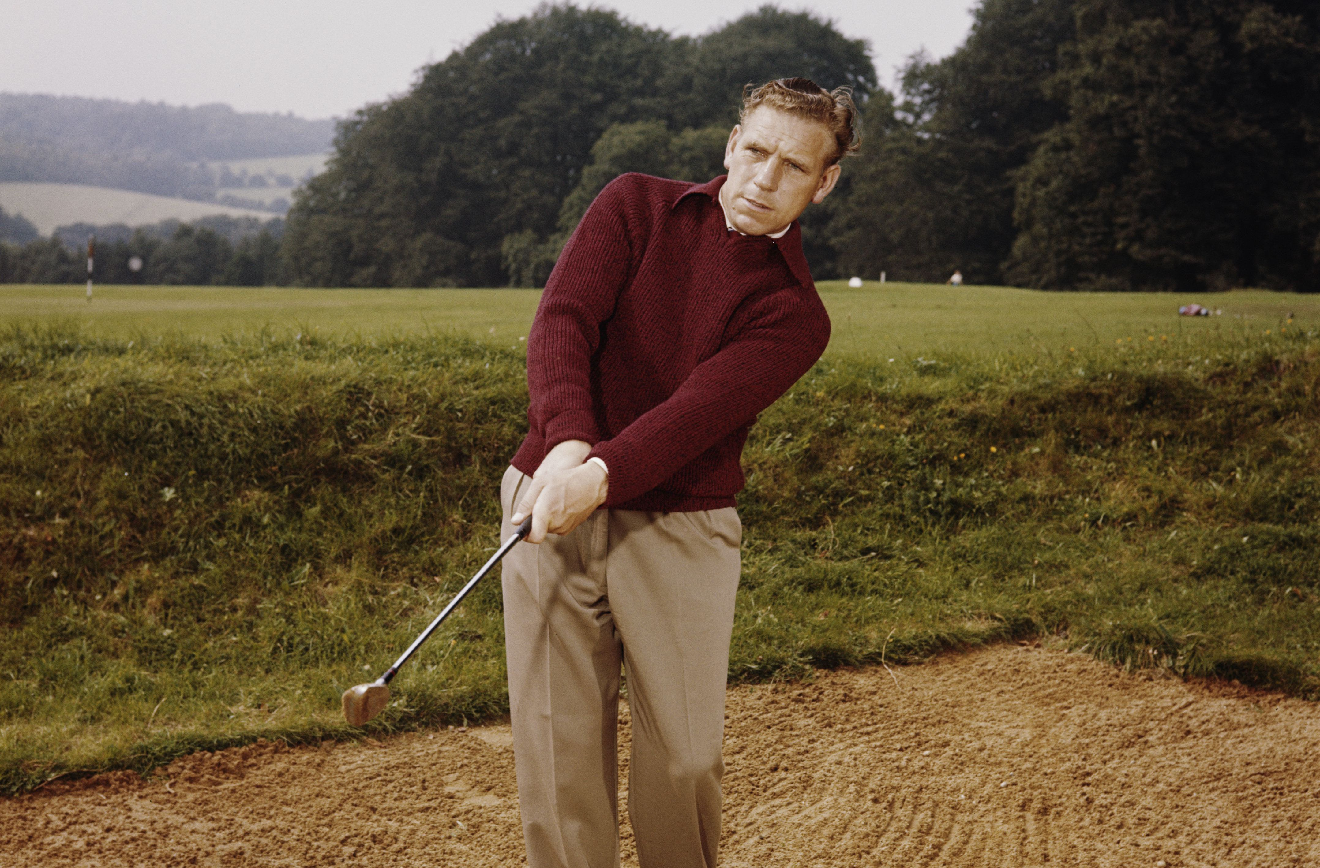Golfer Harry Weetman in 1960