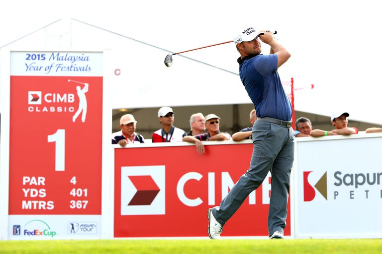 Ryan Moore at the 2014 PGA Tour CIMB Classic
