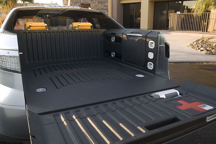 Toyota A-BAT Hybrid Concept Truck's Bed