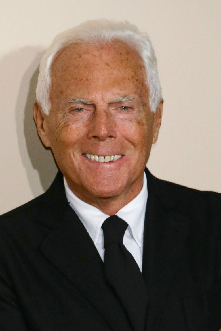 Designer Giorgio Armani