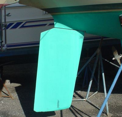 Sailboat Spade Rudder