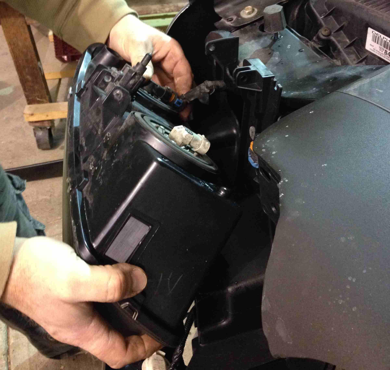 DIY Broken Headlight Glass Replacement
