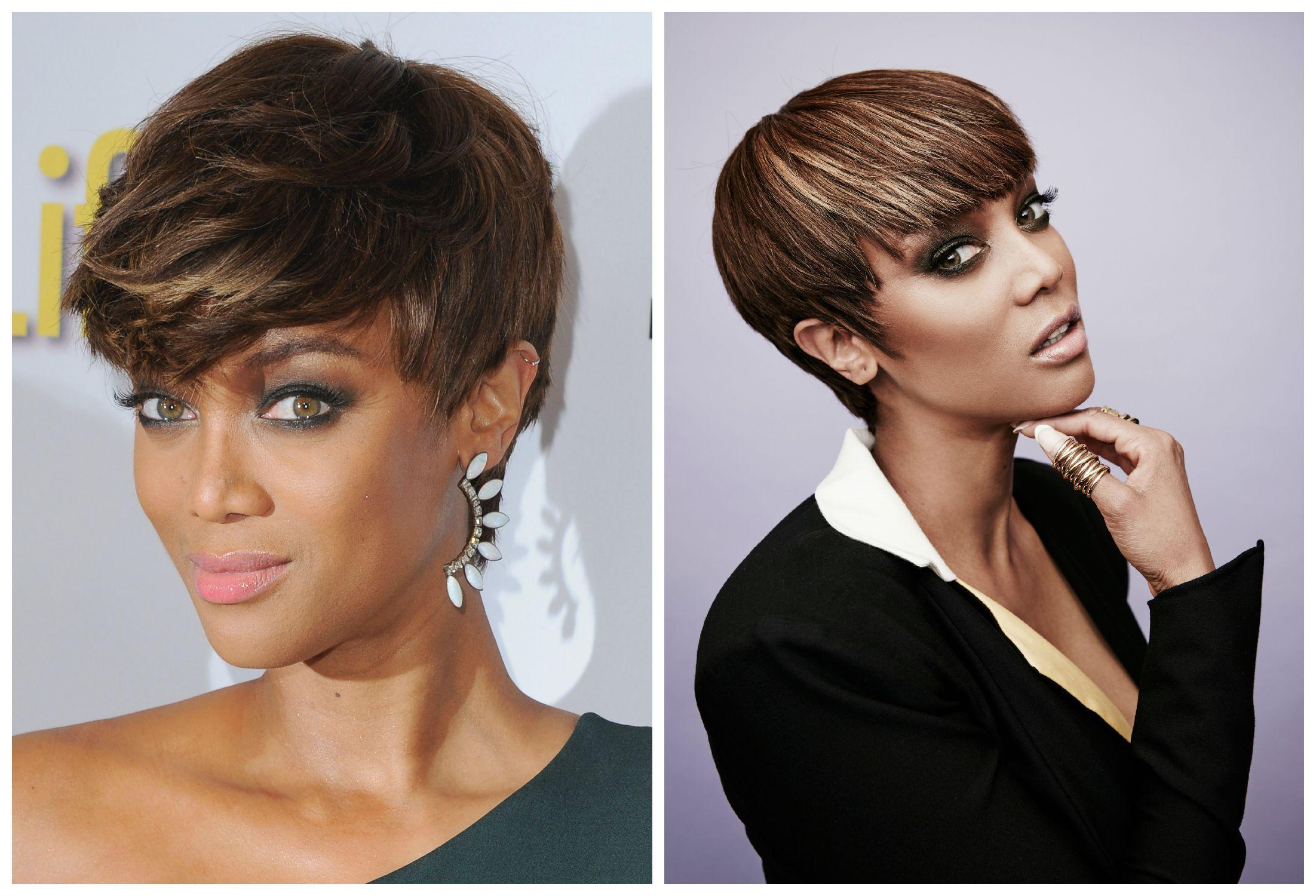 Tyra Banks New Short Haircut Best Short Hair Styles