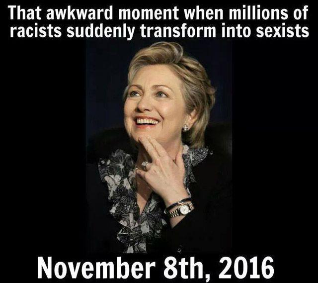 Hillary That Awkward Moment