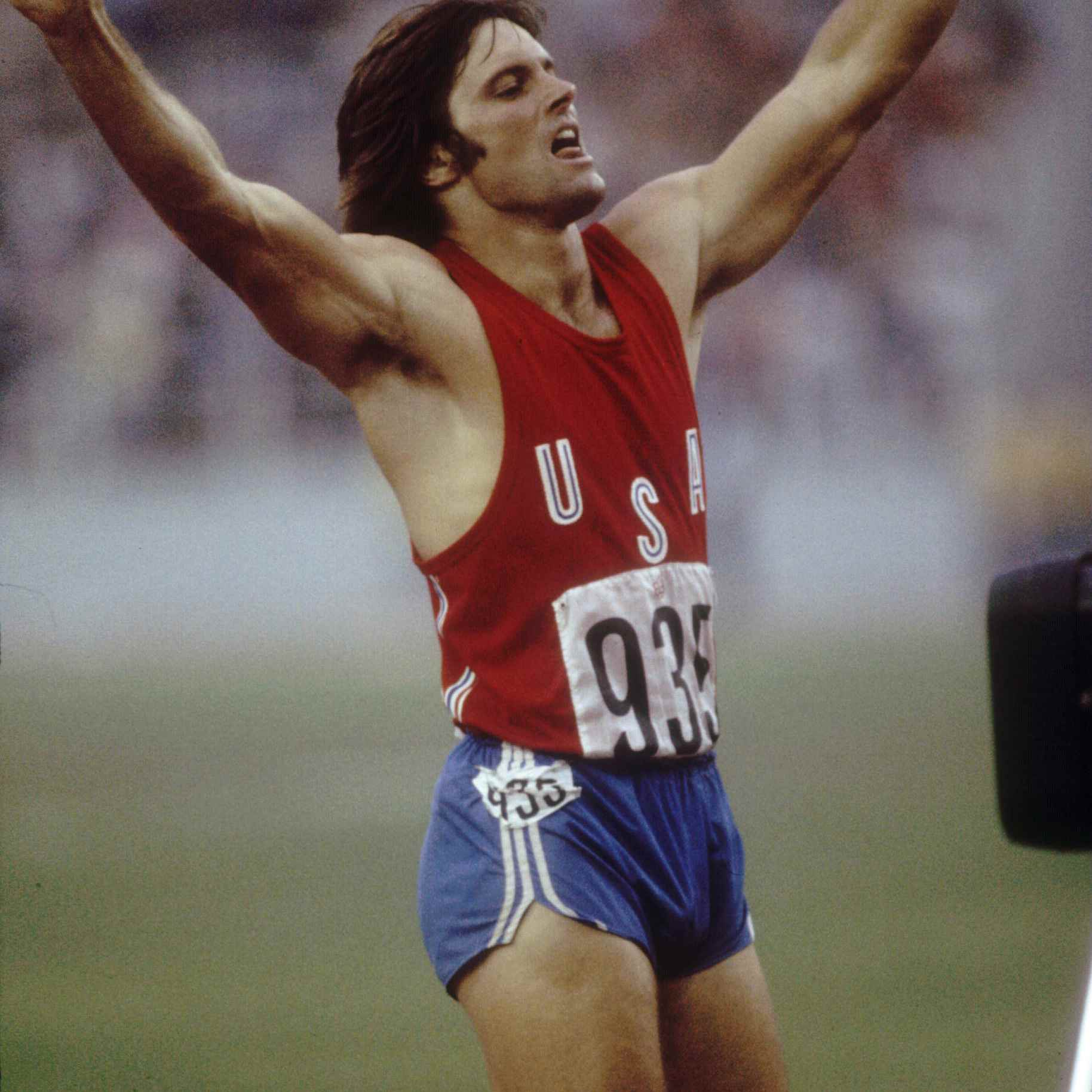 Bruce Jenner at the Olympics