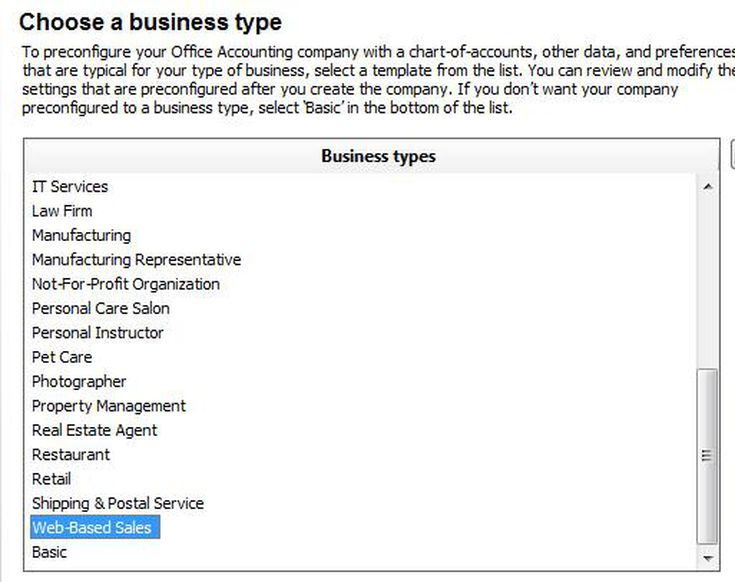 Sample Chart Of Accounts For A Web Based Craft Business
