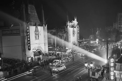 Grauman's Chinese Theatre for the 1944 Academy Awards ceremony
