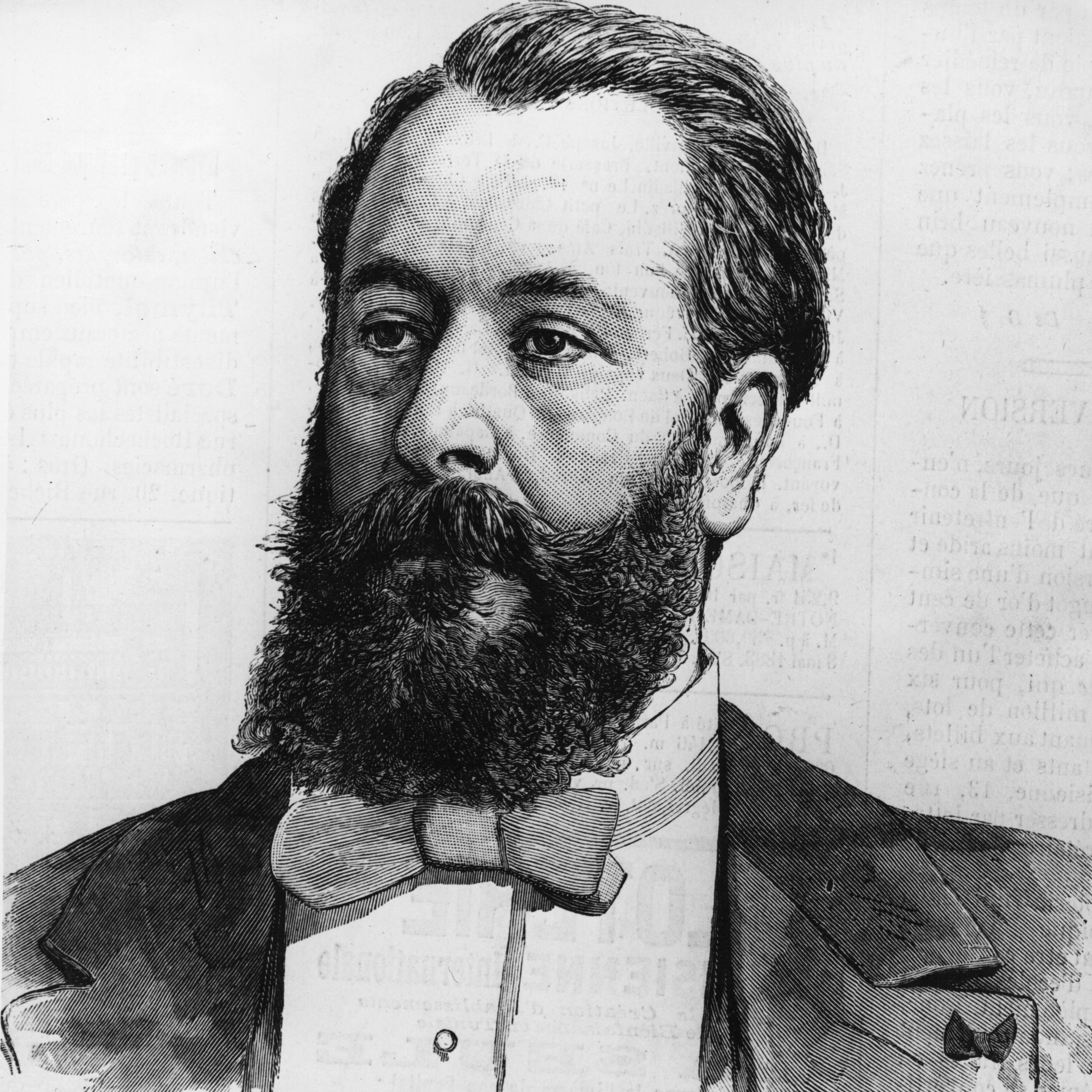 French composer Clement Leo Delibes