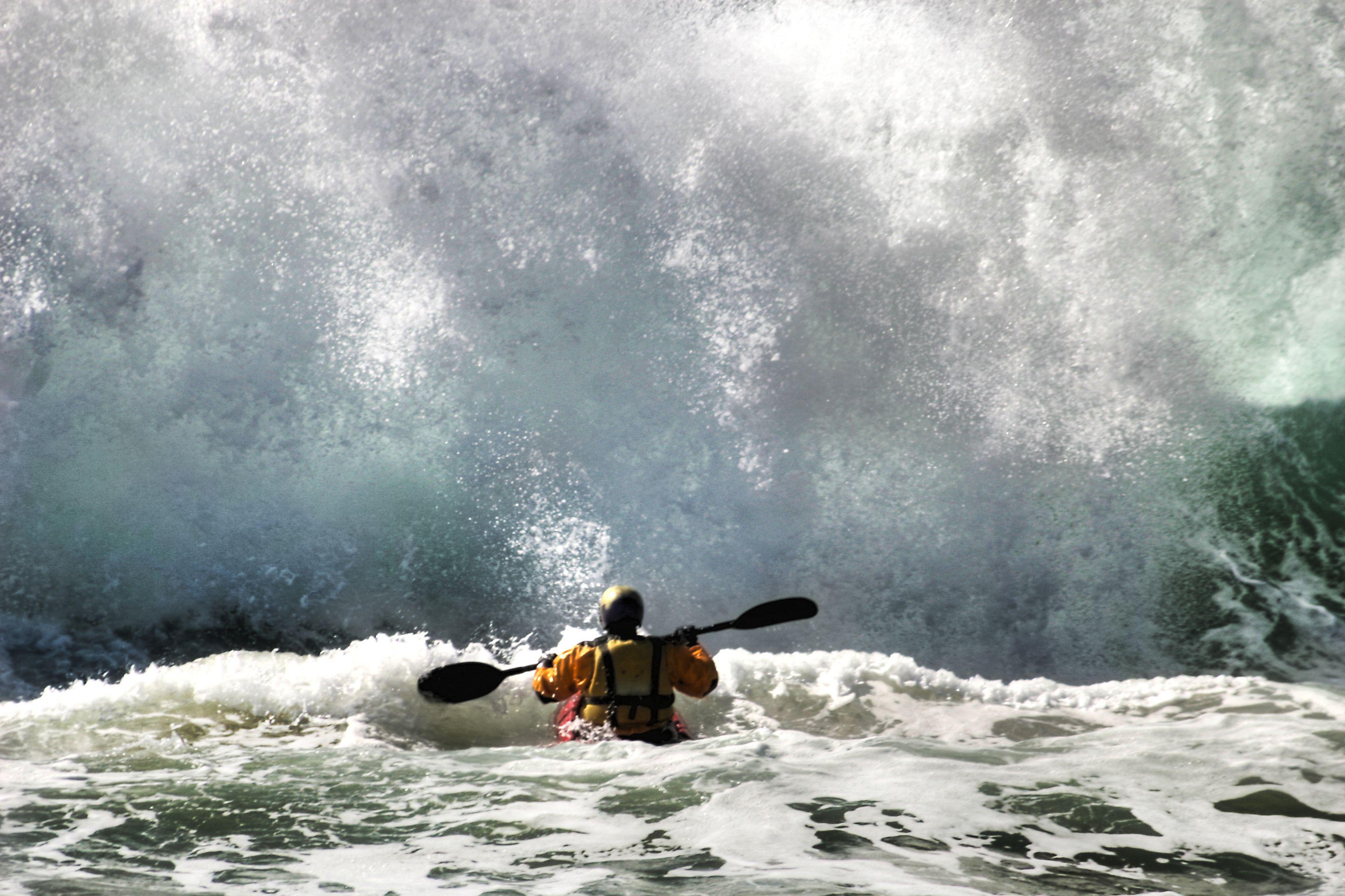kayaking the Northern beaches , Australia