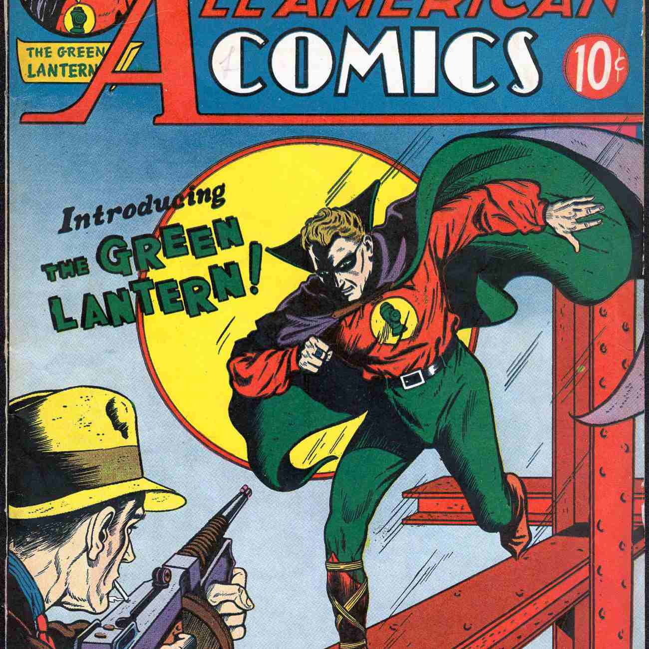 First appearance of Green Lantern