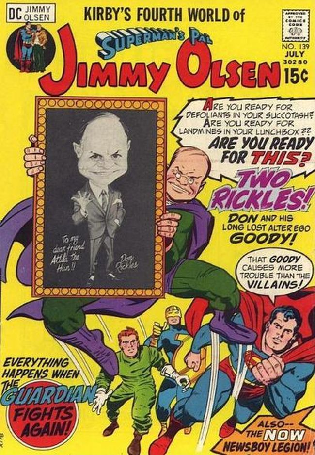 Comic cover of