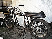 First Time Restoration of a Classic Motorcycle