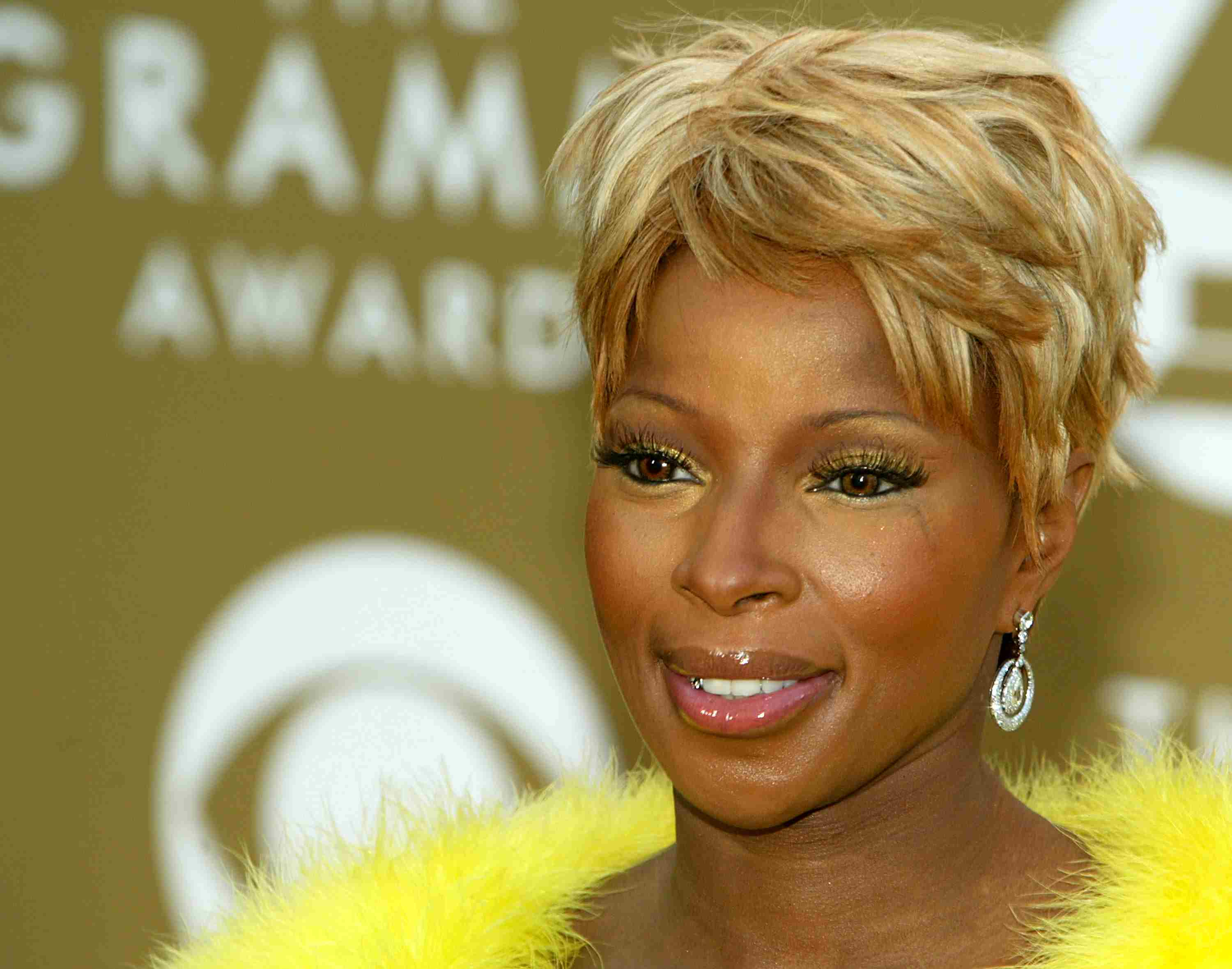 Mary J Blige on the red carpet