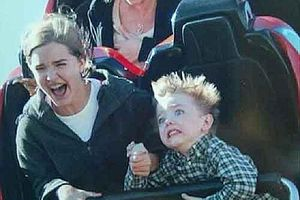 Scared Coaster Kid