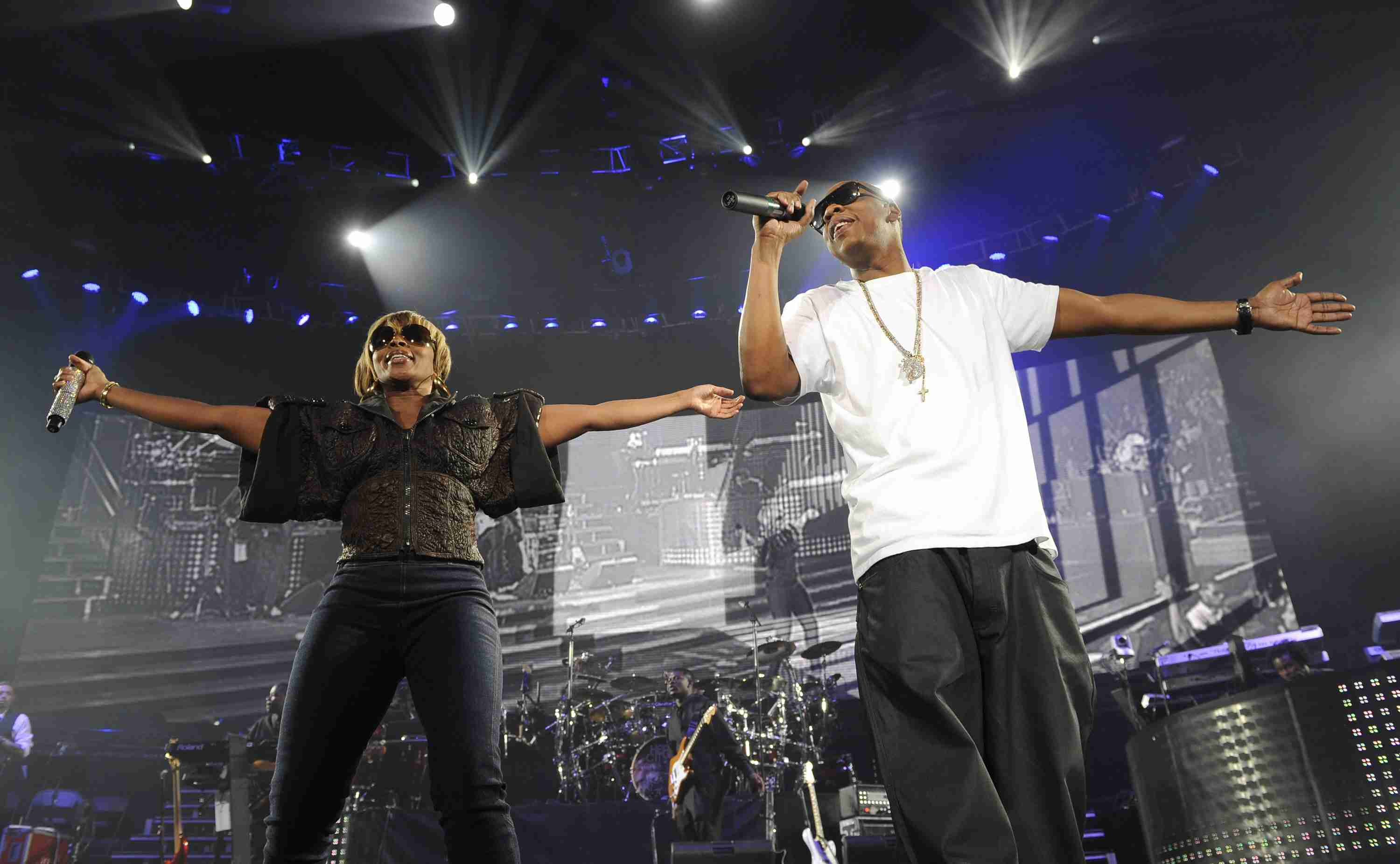 Jay-Z and Mary J. Blige - 'The Heart of the City' Tour Opener - Miami