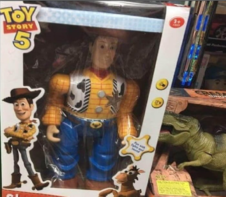 knock off Toy Story action figure