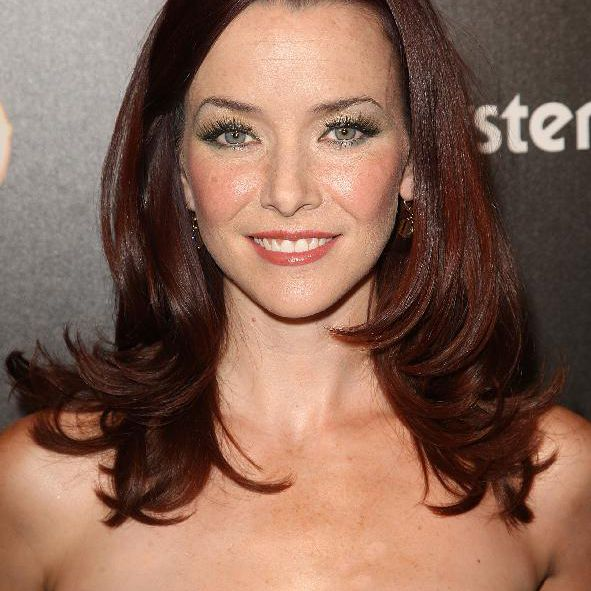 Actress Annie Wersching arrives to TV Guide's sexiest stars party on March 24, 2009