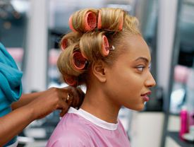 Roller sets are often used in Dominican blowouts.