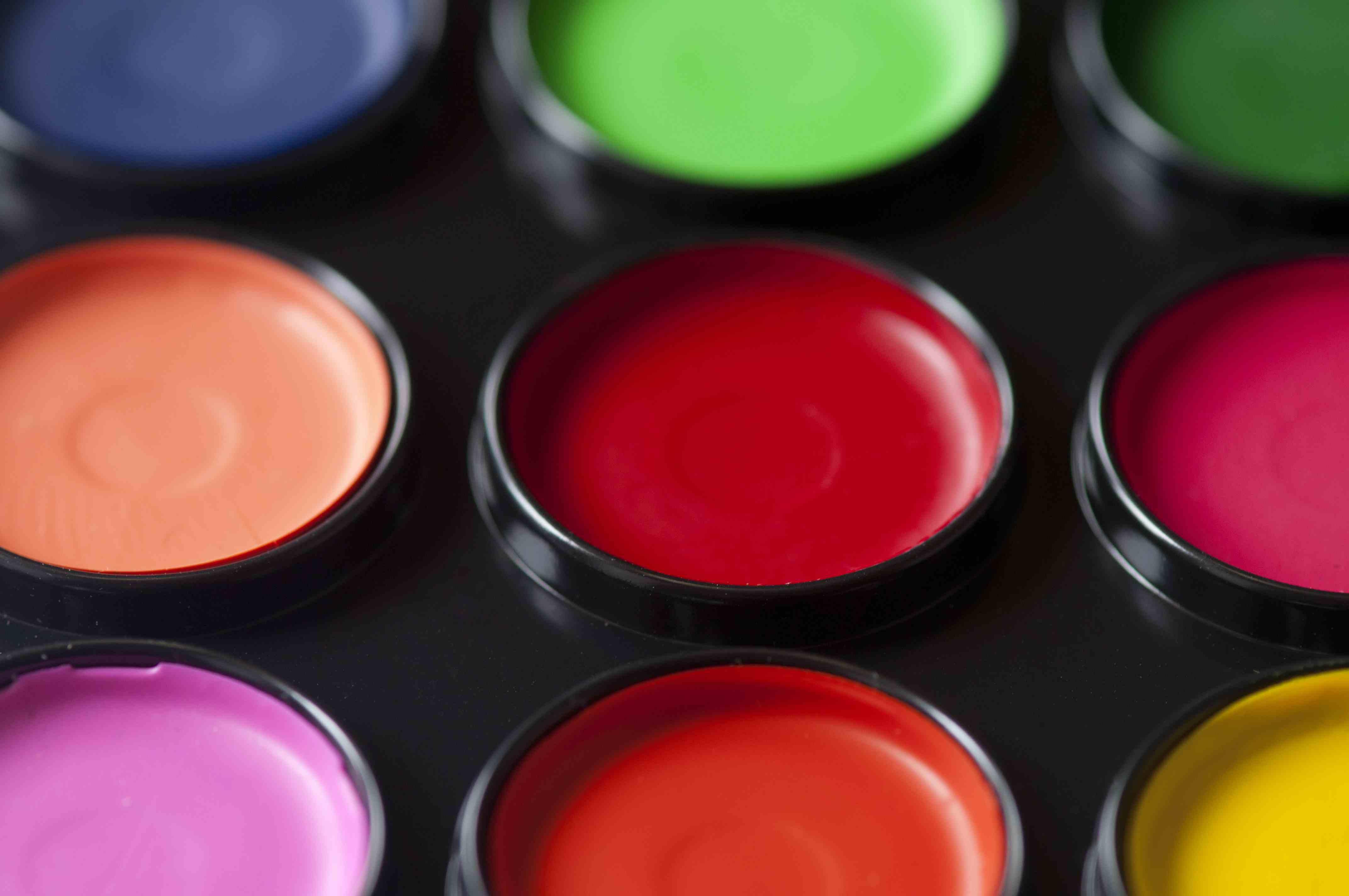 Paint Pallete Colours