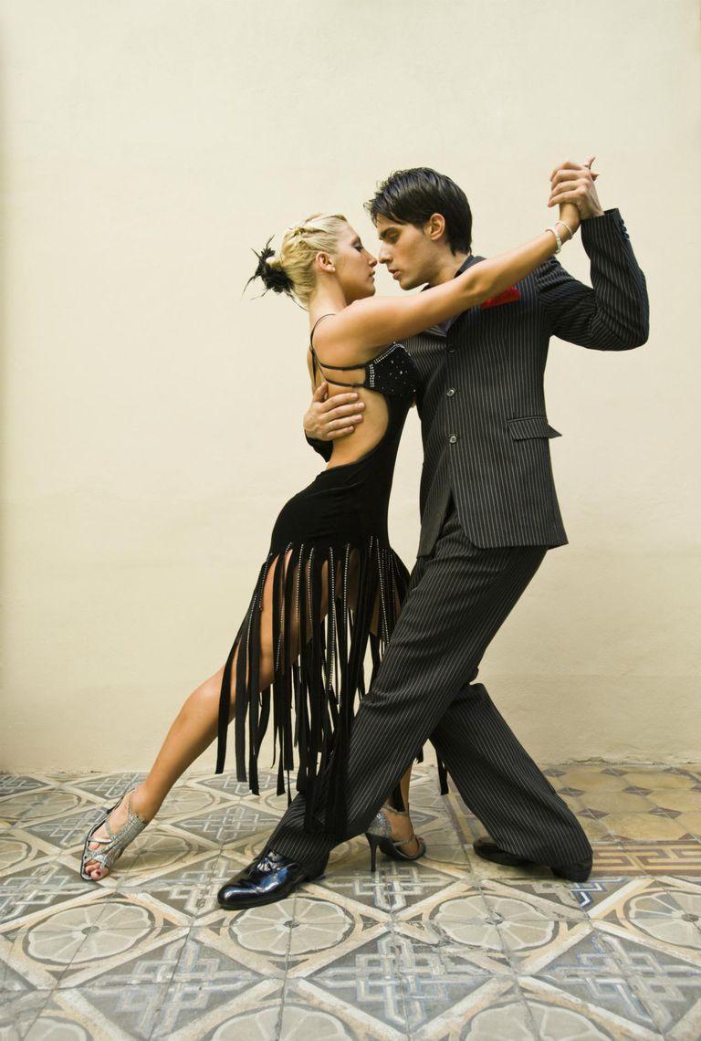 Tango dancers, Argentina, Buenos Aires