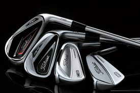 Muscleback and cavityback irons by Titleist
