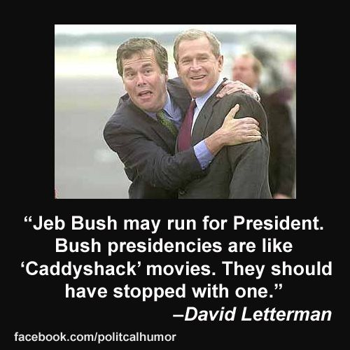 Jeb Bush for President Jokes