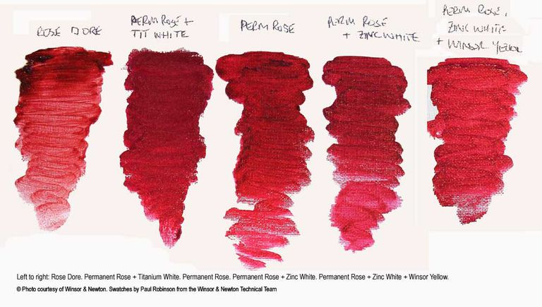 Rose Dore paint color swatch