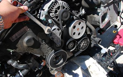 How to Loosen a Tensioner Pulley