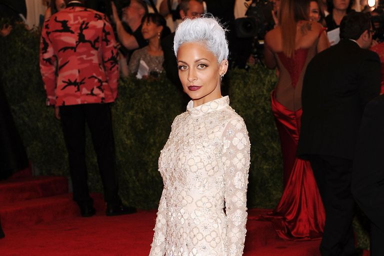 Nicole Richie attends the Costume Institute Gala in 2013