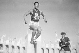 Chuhei Nambu Competes in 1932 Olympics