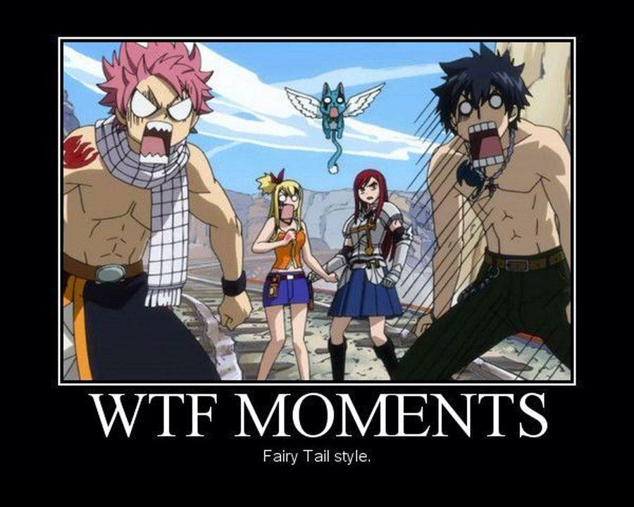 Funny WTF Fairy Tail Meme