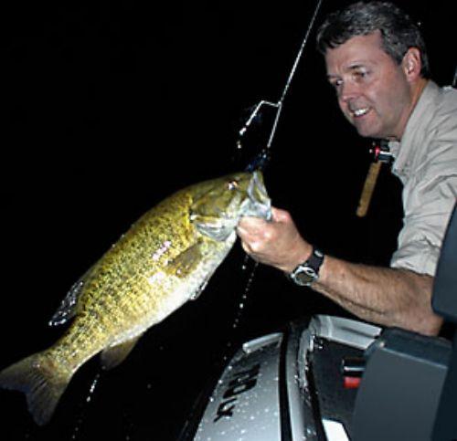Night Fishing For Bass