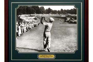 Ben Hogan's famous 1-iron shot at Merion in the 1950 US Open golf tournament