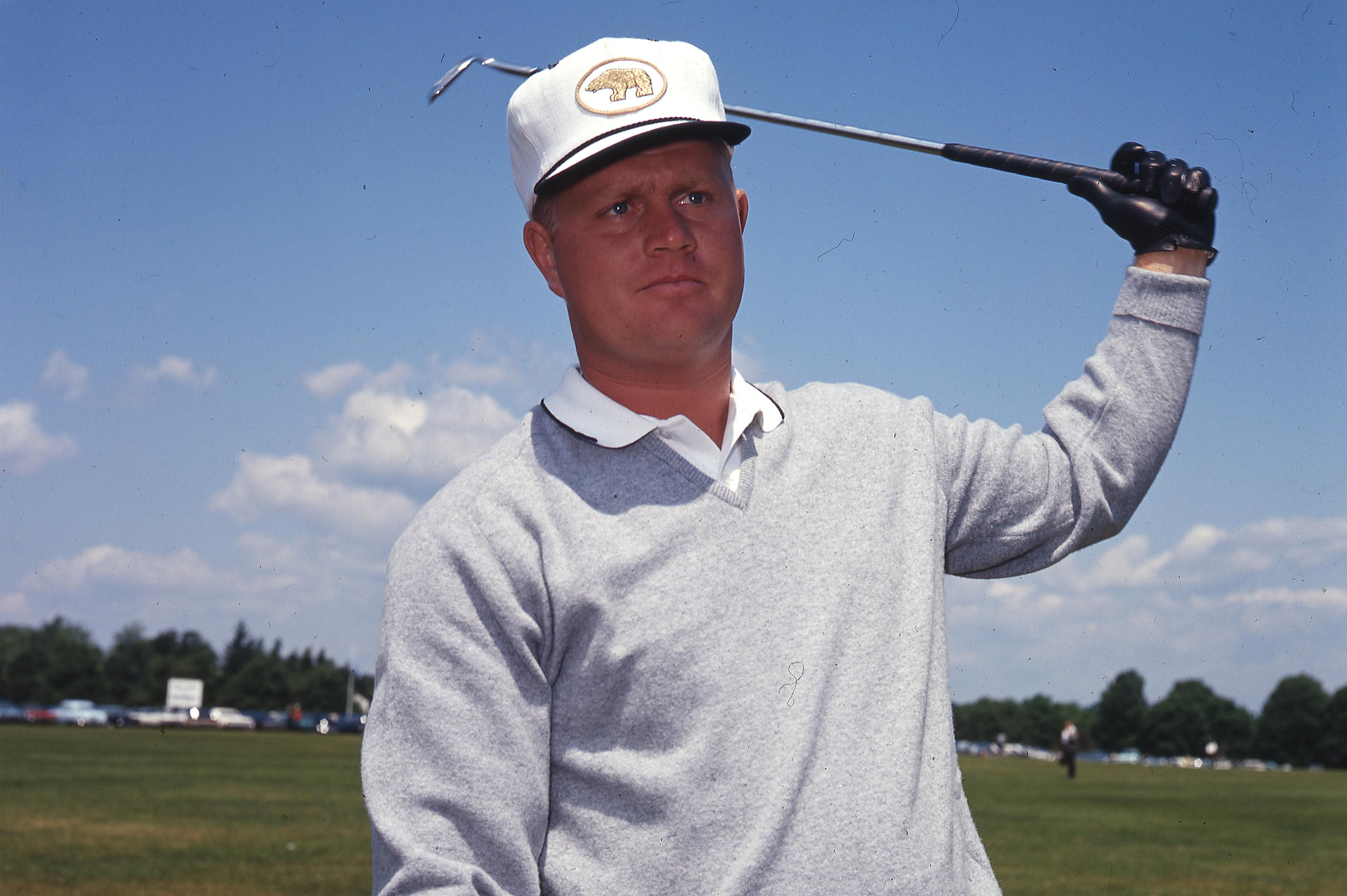 Jack Nicklaus' nickname is The Golden Bear
