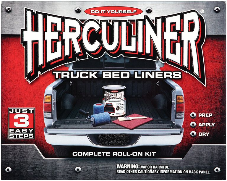 Herculiner truck bed liner kit
