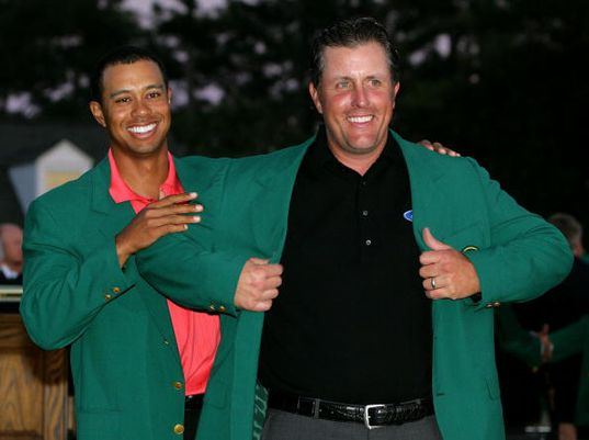 Phil Mickelson's Wins in Major Championships