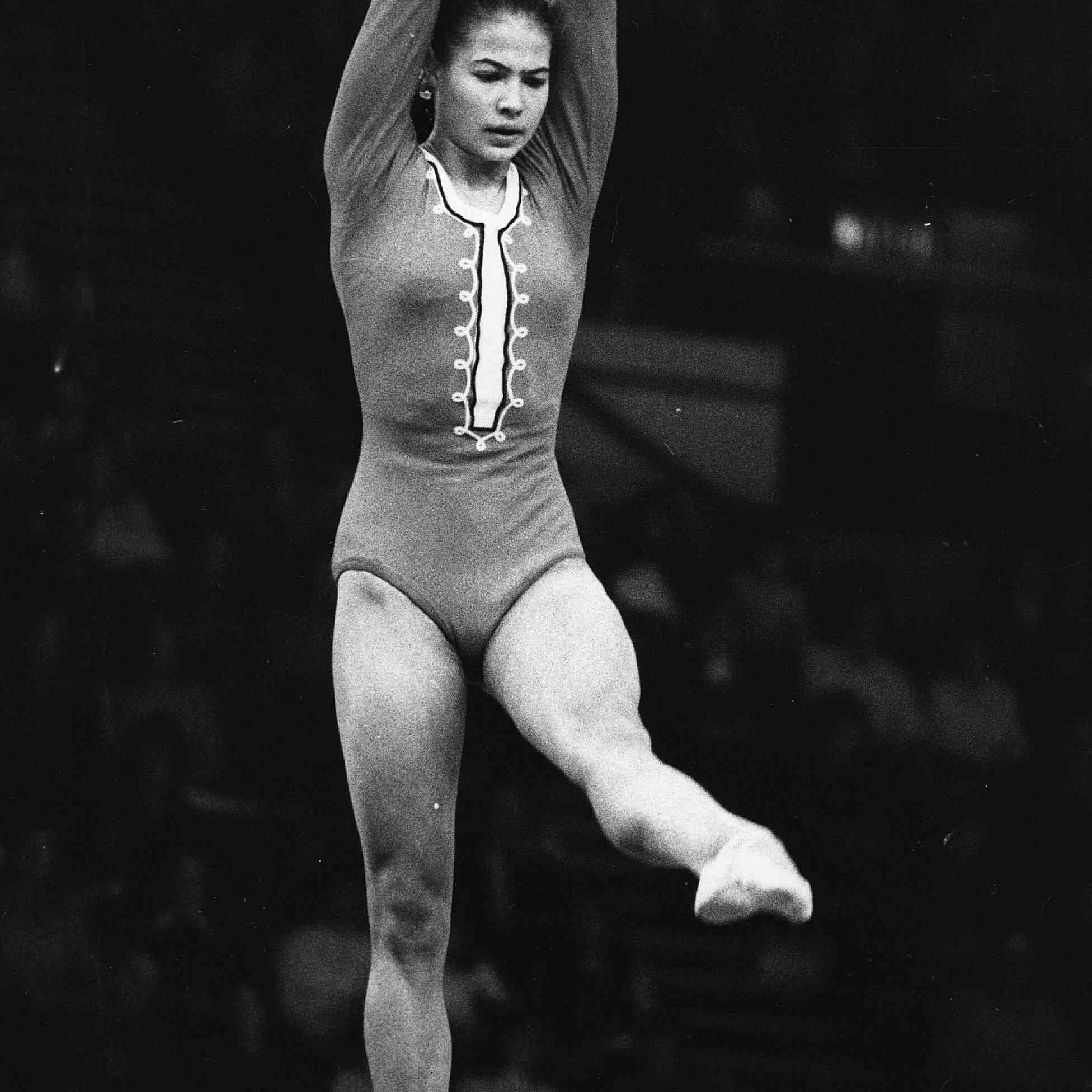 Olympic Gymnast Ludmilla Tourischeva