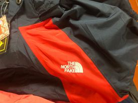 knock off North Face brand called North Fake