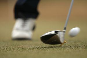 Golf ball compression at impact
