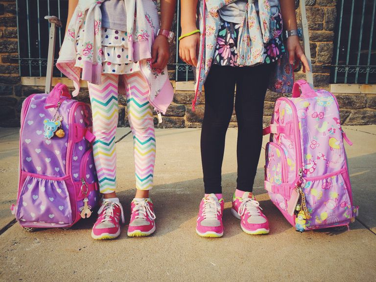 back to school students