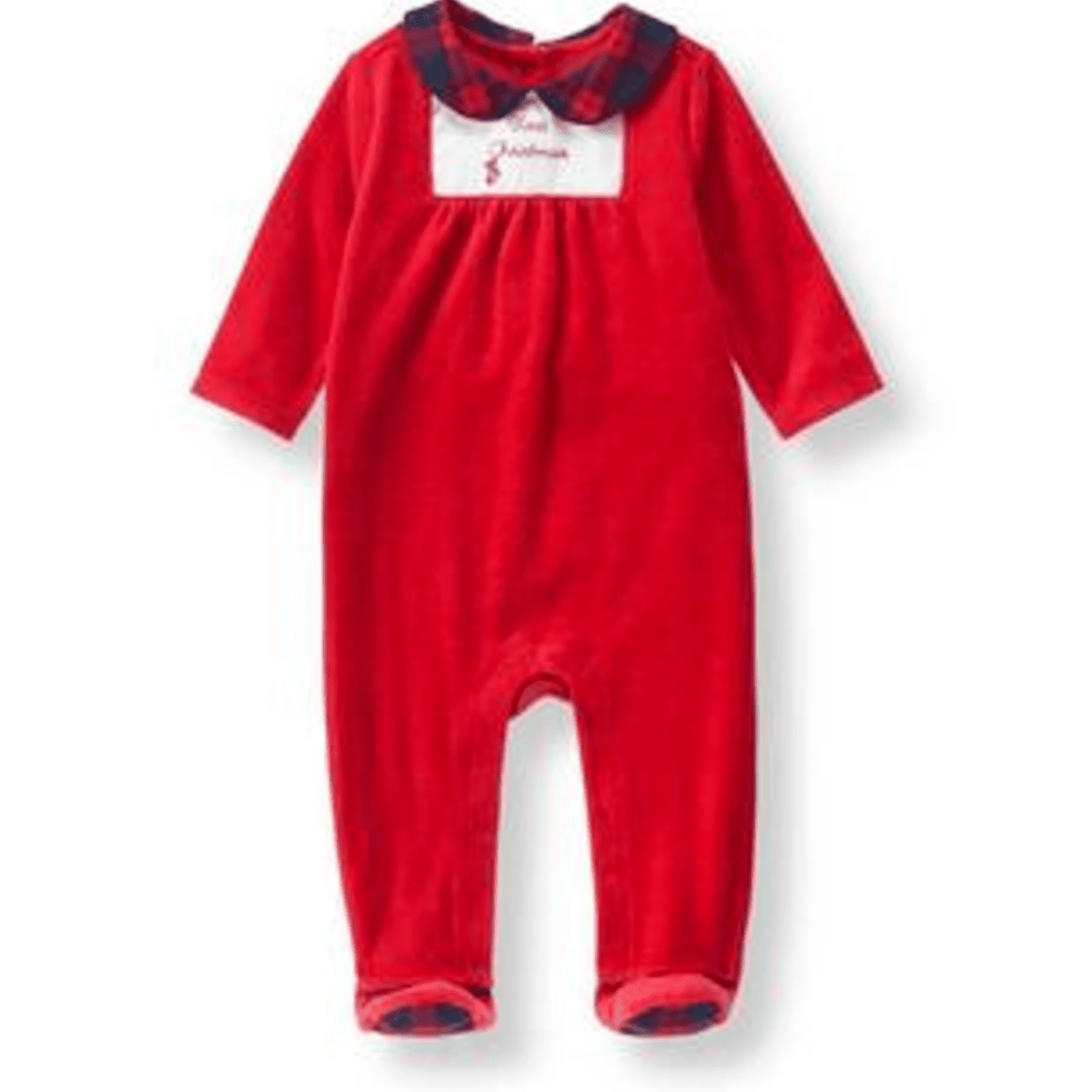 dc21a4492 20 Adorable Baby's First Christmas Outfits