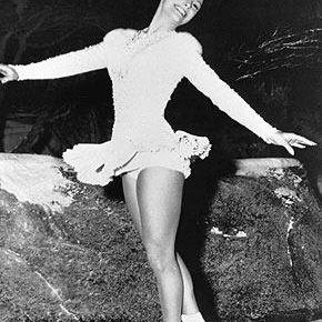 1960 Olympic Figure Skating Champion Carol Heiss