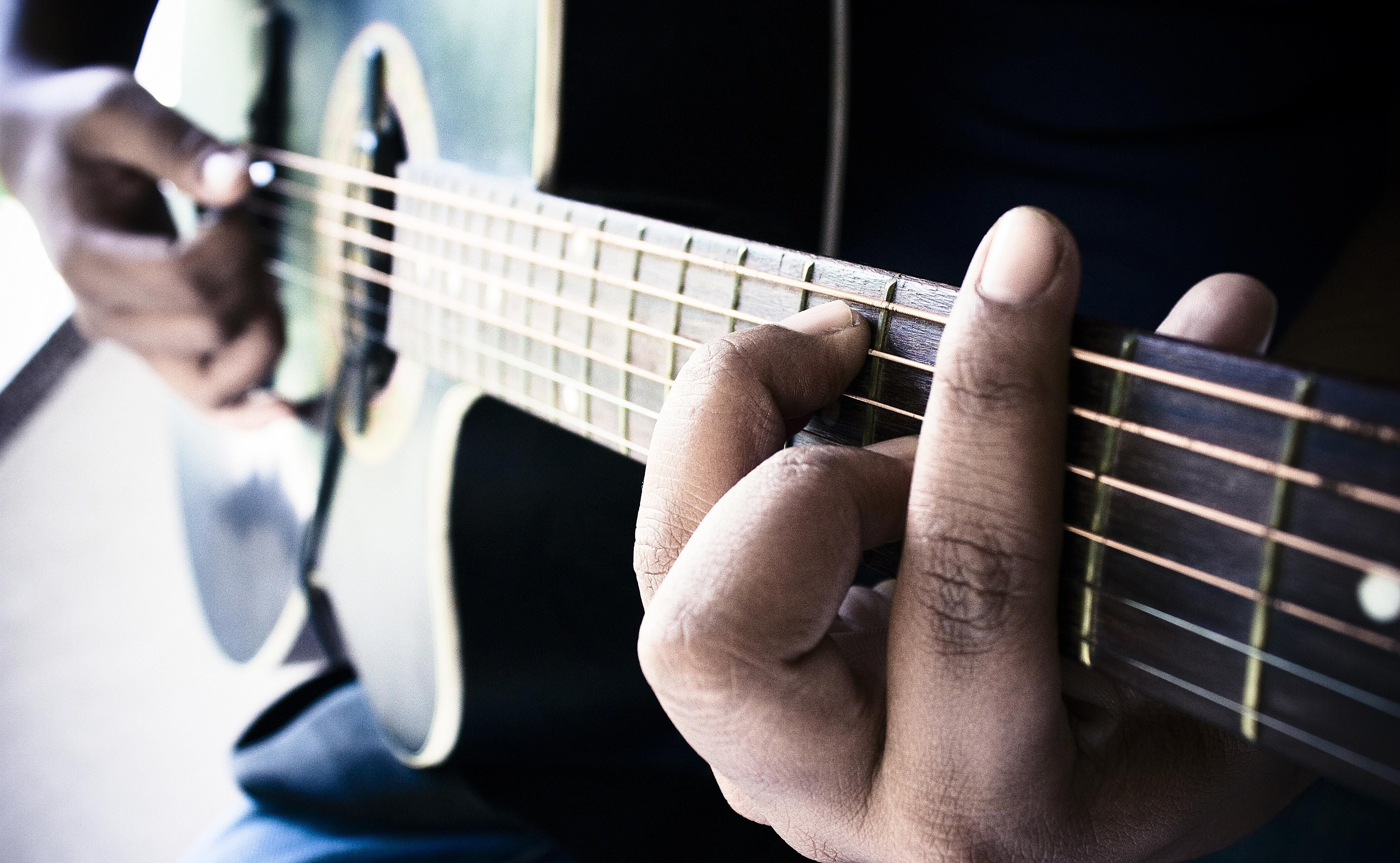 seventh chord on acoustic guitar