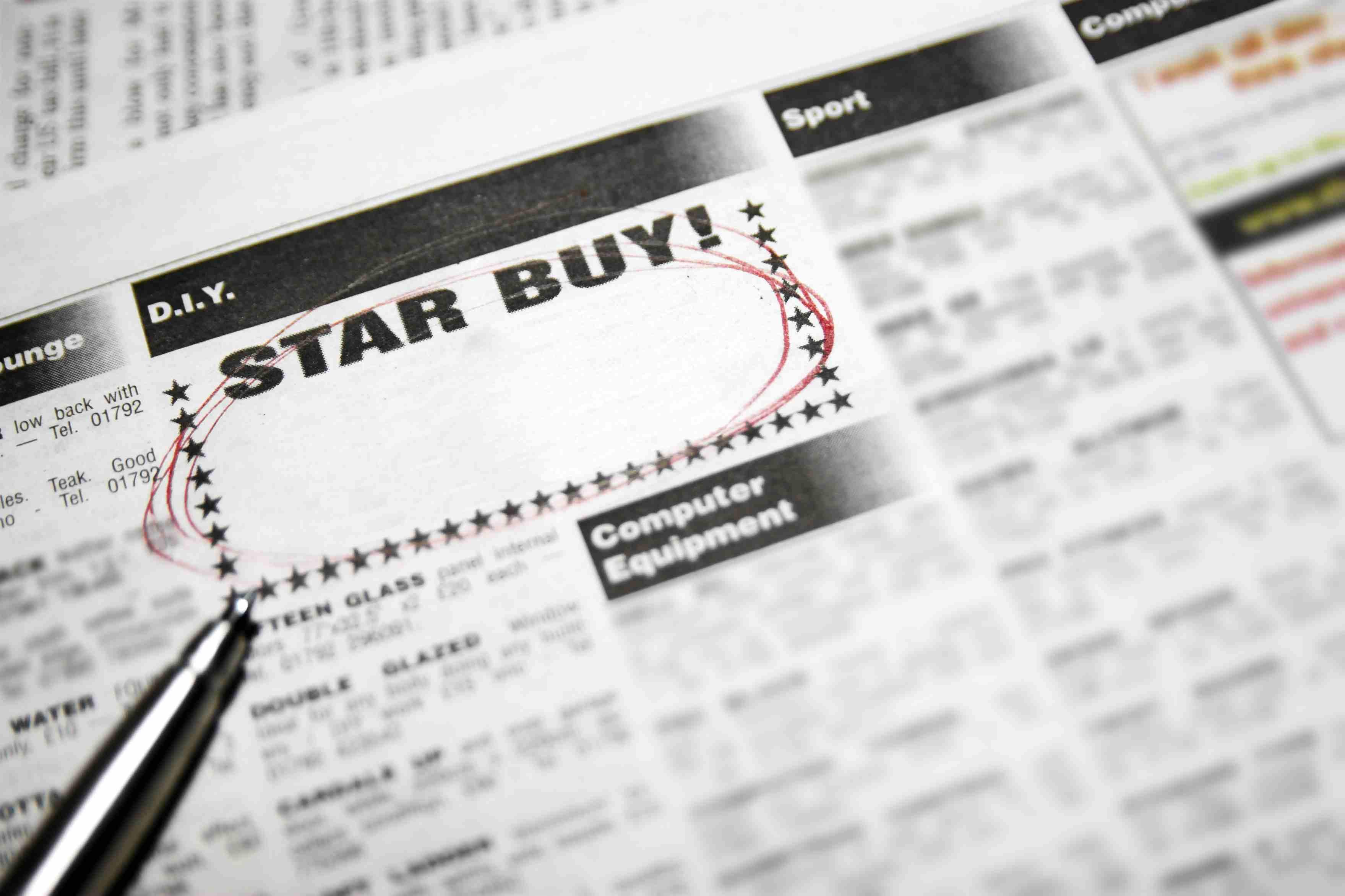 Star buy advert