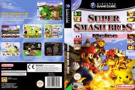 Super Smash Bros for GameCube box art