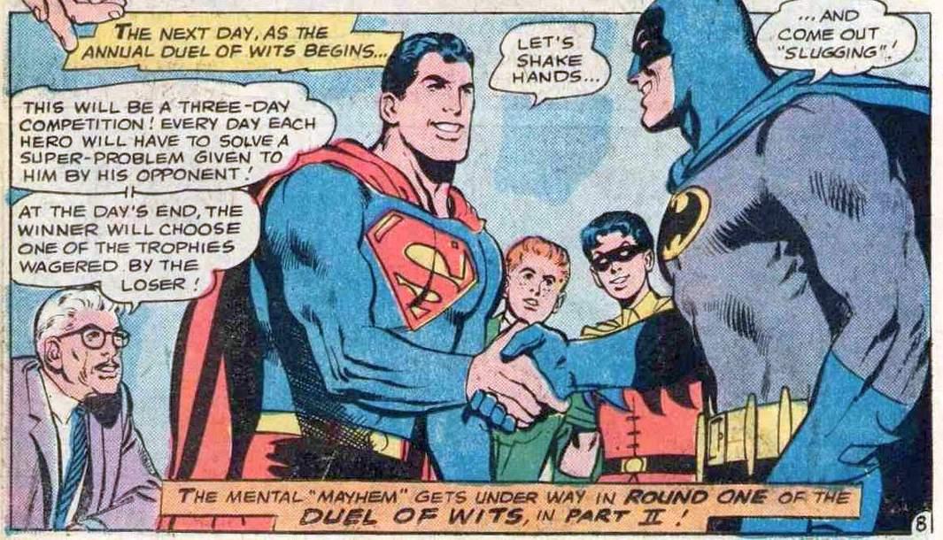 Comic Panel of World's Finest Comics #175