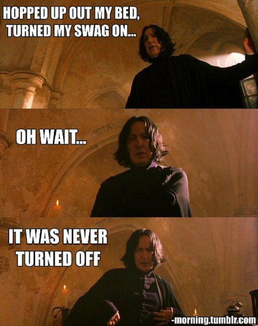 Professor Snape meme