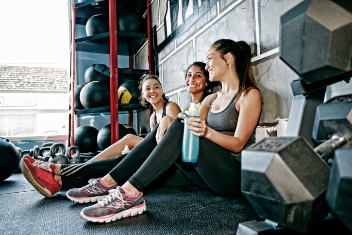 Image result for make friends at the gym