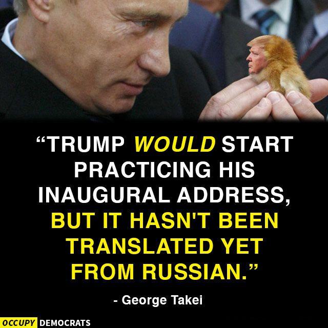 Inauguration - trump meme