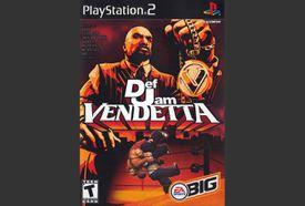 Def Jam Vendetta PS2 box art